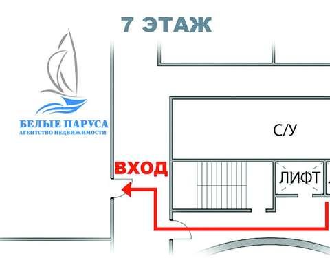 Схема 7-го этажа ТЦ «Атак»