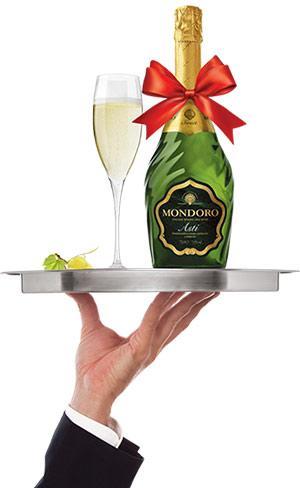 Бутылка Mondoro в подарок!