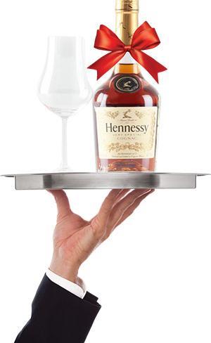 Бутылка Hennessy в подарок!